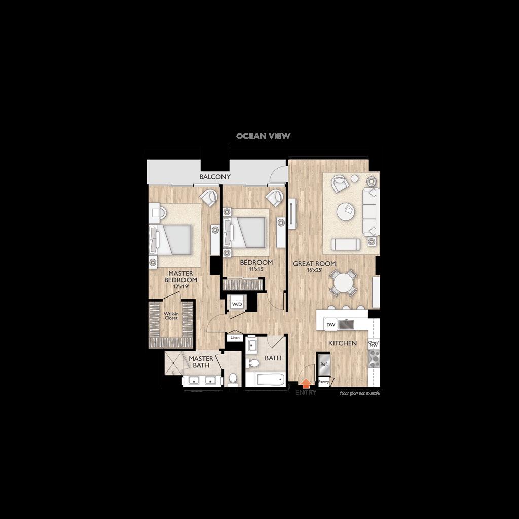 Plan B Floor Plan Diagram