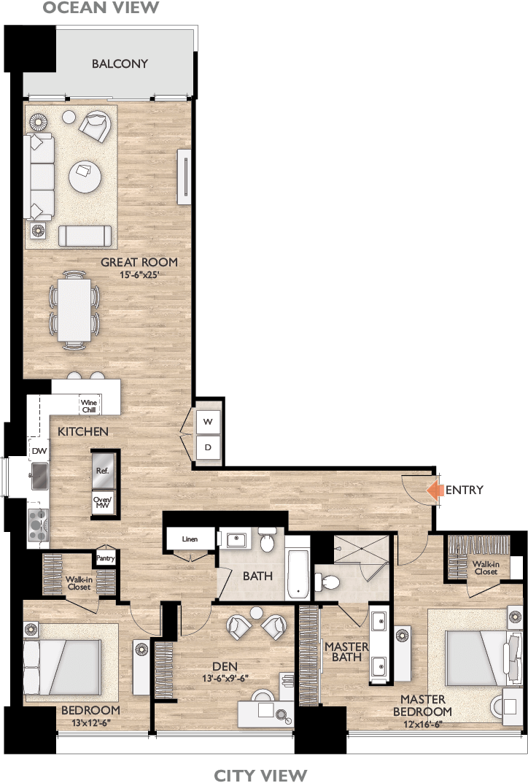 Plan A Floor Plan Diagram