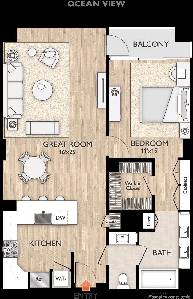 Plan C Floor Plan Diagram