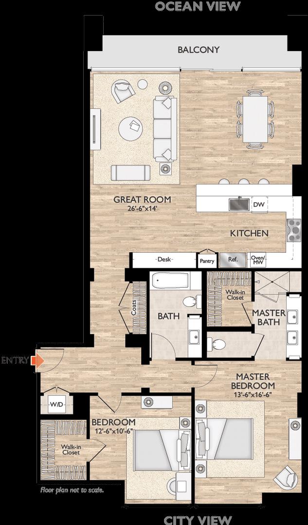 Plan D Floor Plan Diagram